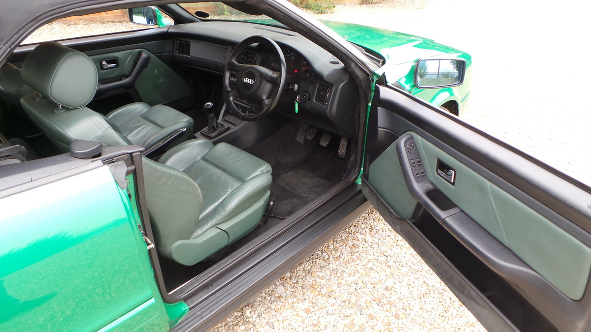 2000 Audi v6 2.6 cabriolet only 47000 miles For Sale (picture 4 of 6)