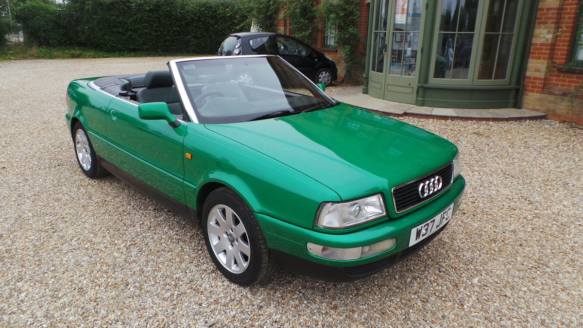 2000 Audi v6 2.6 cabriolet only 47000 miles For Sale (picture 5 of 6)