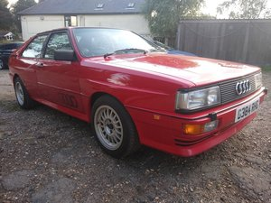 Picture of 1990 Audi UR RR 20V Quattro for auction 29th/30th October SOLD by Auction
