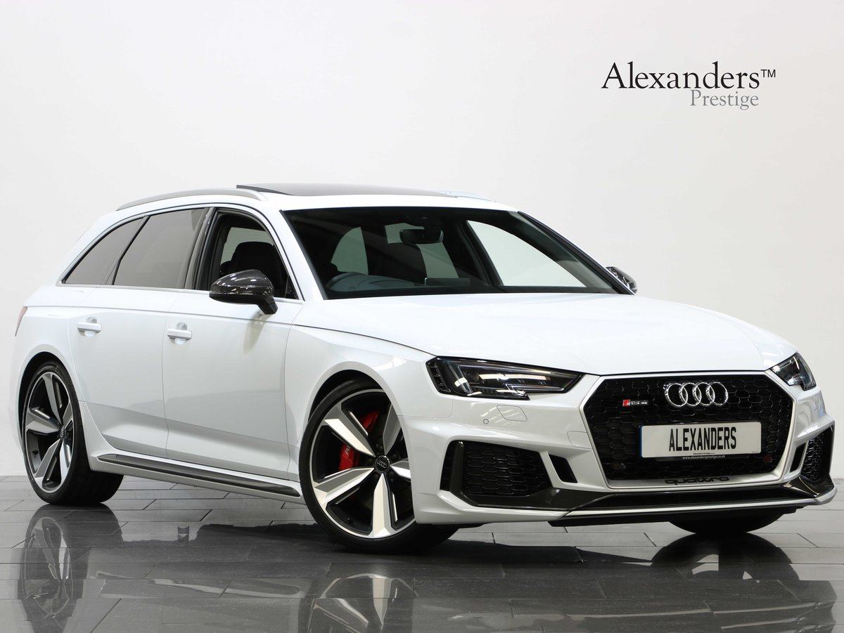 2018 18 68 AUDI RS4 CARBON EDITION 2.9 TFSI QUATTRO TIPTRONIC For Sale (picture 1 of 6)