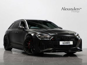 20 69 AUDI RS6 TFSI QUATTRO LAUNCH EDITION TIPTRONIC