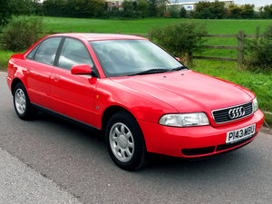 AUDI A4 1.6 SE // ONLY 26000 MILES // 20 SERVICE STAMPS