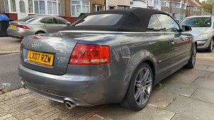 Audi Cabriolet With Low Milage