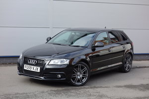 Picture of 2009 Audi 2.0TDi Sportback Black Ed 170BHP Manual FSH Sat Nav SOLD