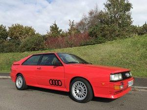 1983 Audi Quattro Coupe RHD UR