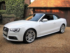 Picture of 2015 Audi A5 2.0 TDI S Line Auto Cabriolet With 1 Lady Owner