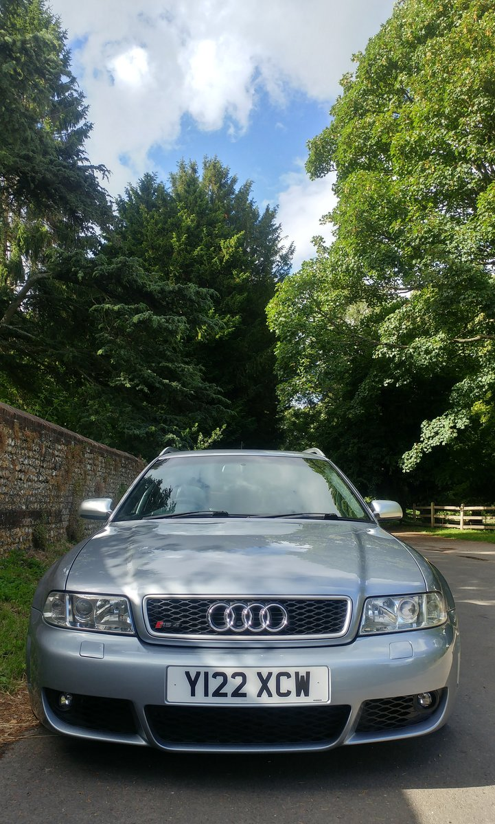 2001 Audi RS4 Avant SOLD (picture 1 of 6)