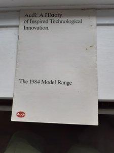 model year brochure