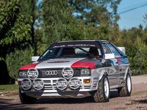Picture of 1981 Audi quattro Group 4  For Sale by Auction