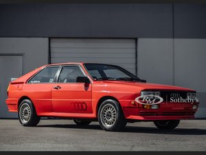 Picture of 1983 Audi quattro  For Sale by Auction