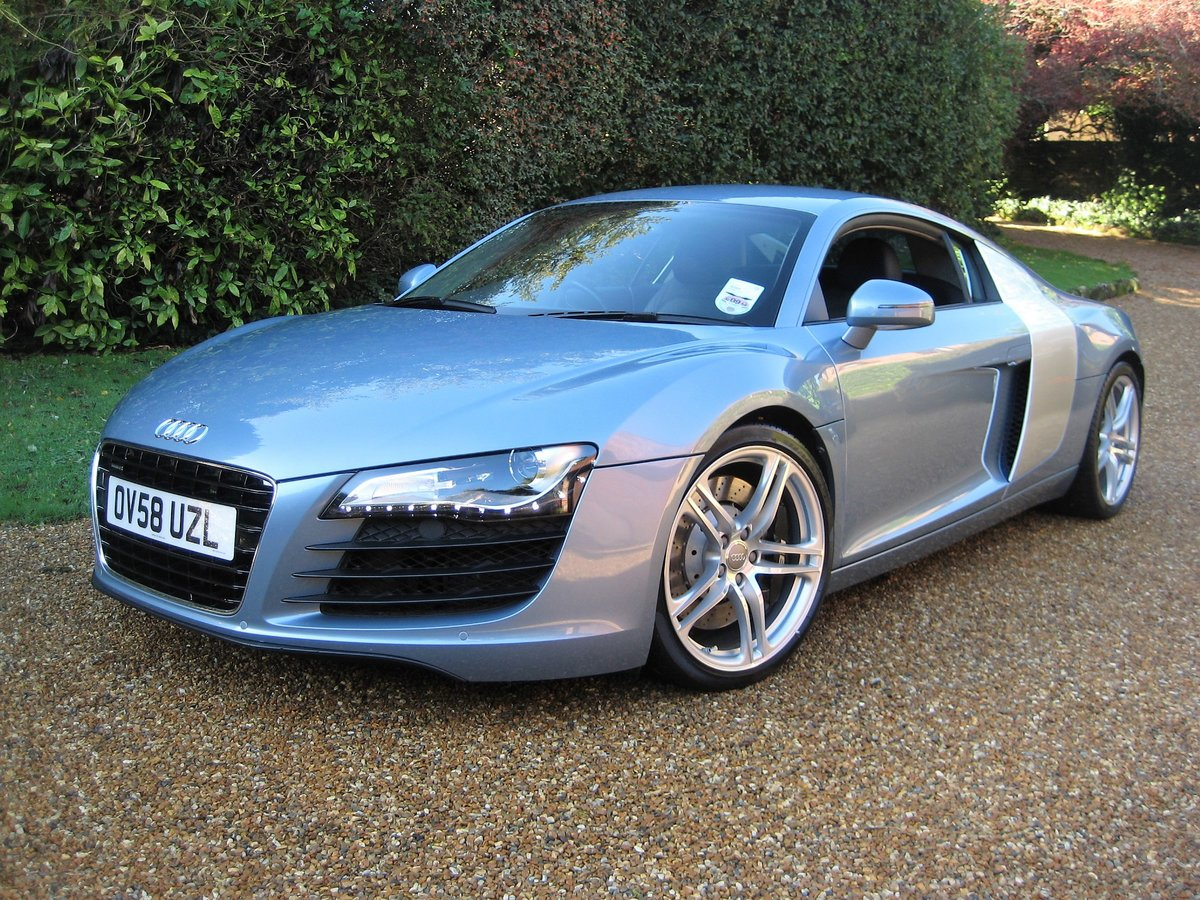 2009 Audi R8 Quattro 1 Owner With Just 8,750 Miles From New For Sale (picture 1 of 6)