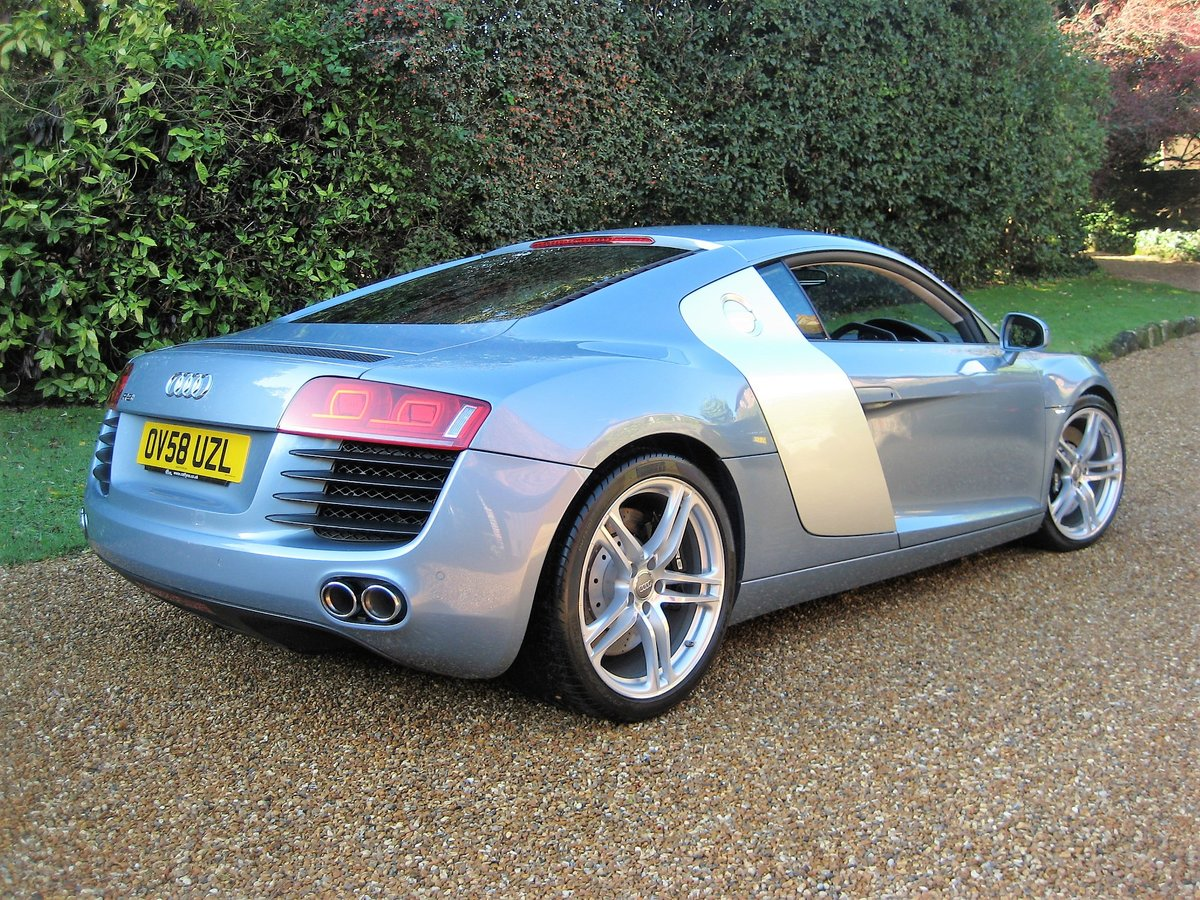 2009 Audi R8 Quattro 1 Owner With Just 8,750 Miles From New For Sale (picture 5 of 6)