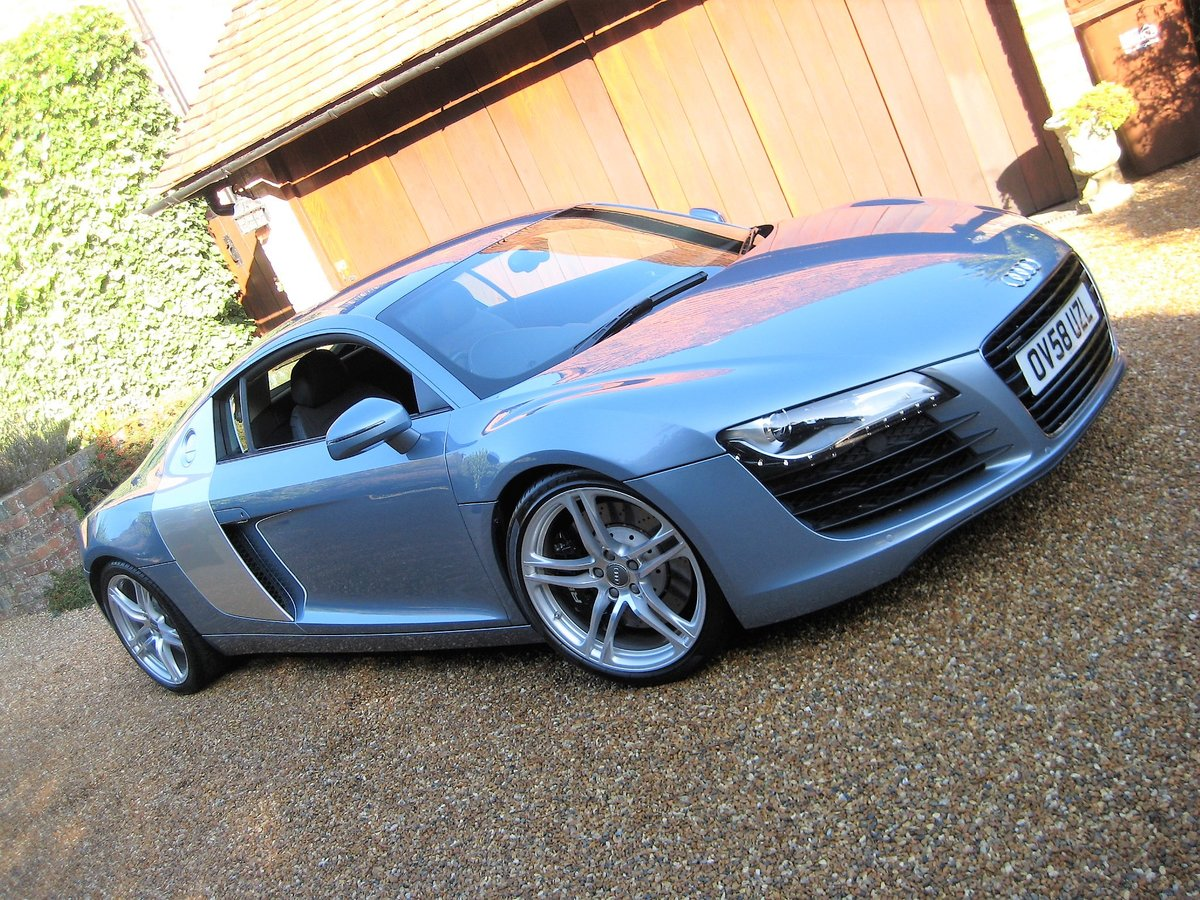 2009 Audi R8 Quattro 1 Owner With Just 8,750 Miles From New For Sale (picture 6 of 6)