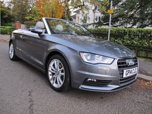 AUDI A3 Cabriolet SPORT 1.4 TFSI S-Tronic AUTOMATIC 1 LADY