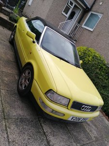 Picture of 1999 Yellow Audi Cabriolet