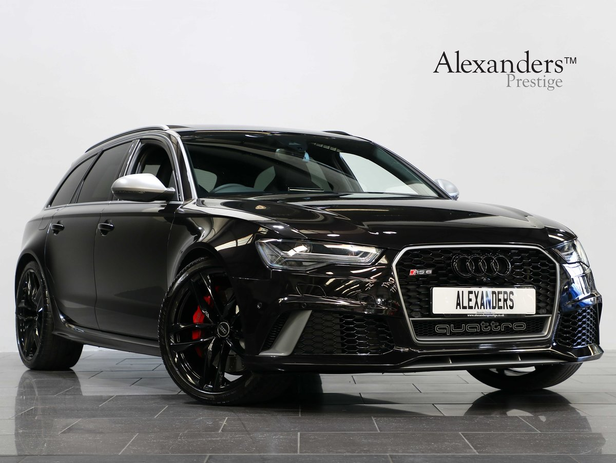 2017 17 17 AUDI RS6 PERFORMANCE 4.0 BI-TURBO AUTO For Sale (picture 1 of 6)