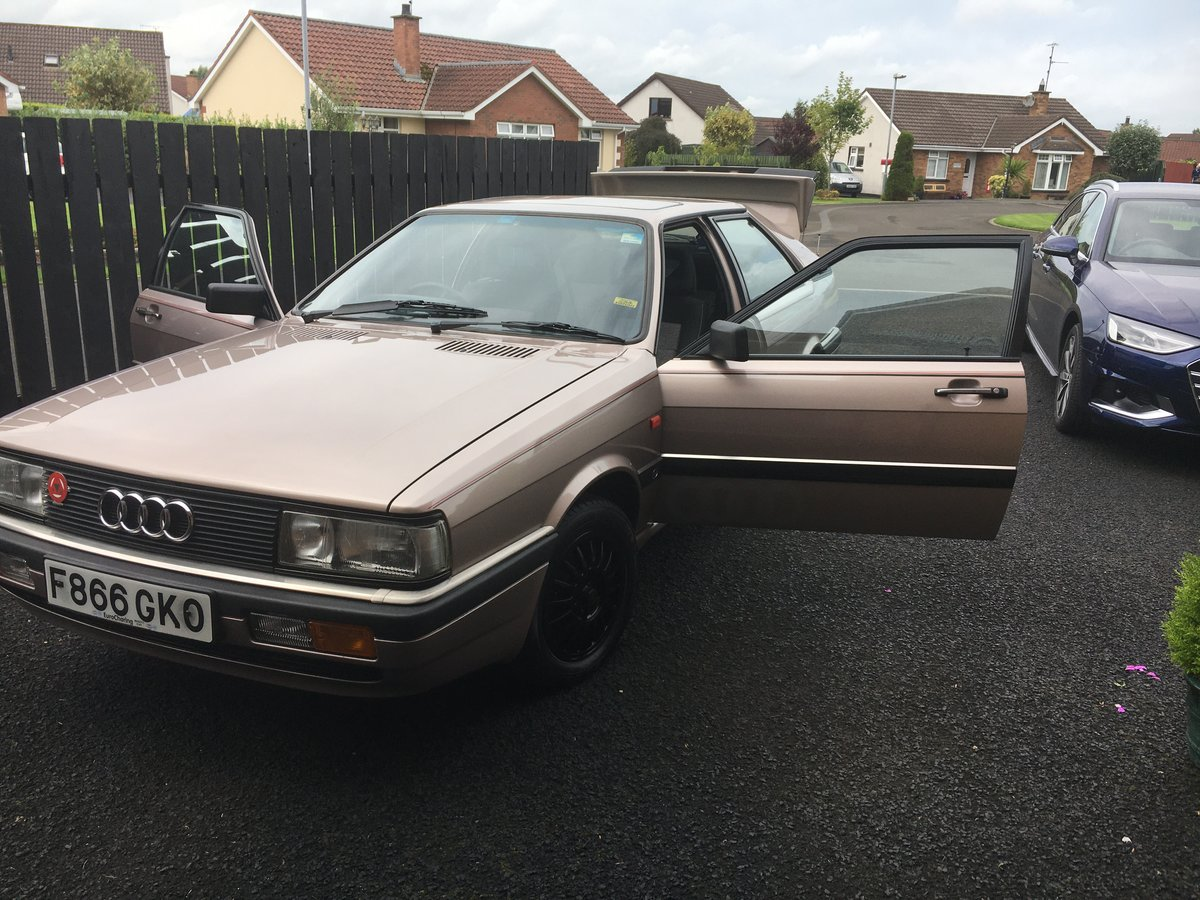 1989 Audi Coupe GT (b type) For Sale (picture 6 of 6)