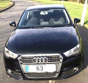 Audi A1 TFSI petrol black
