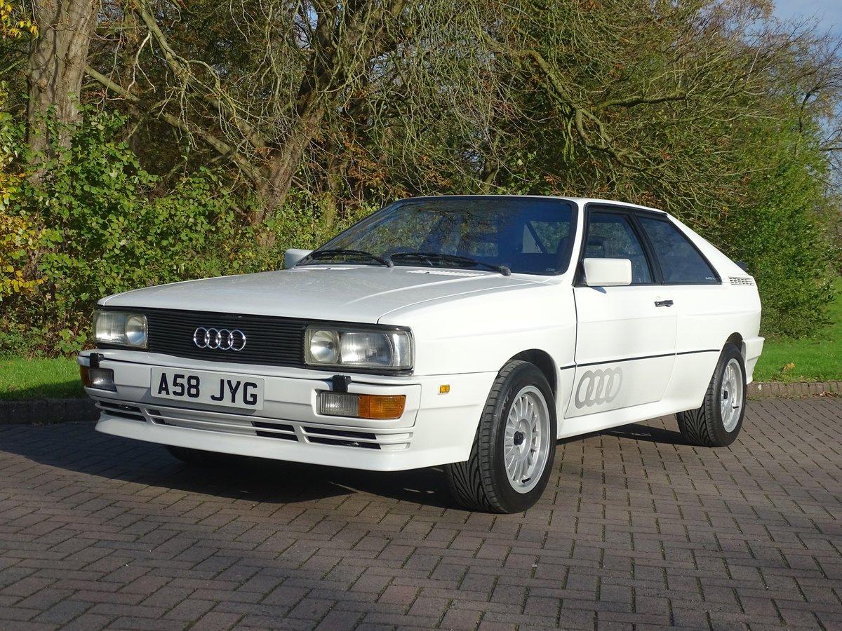 1983 Audi Quattro 10v For Sale (picture 1 of 6)