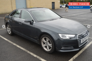 2017 Audi A4 SE Ultra TDI 52,180 miles for auction 25th Nov