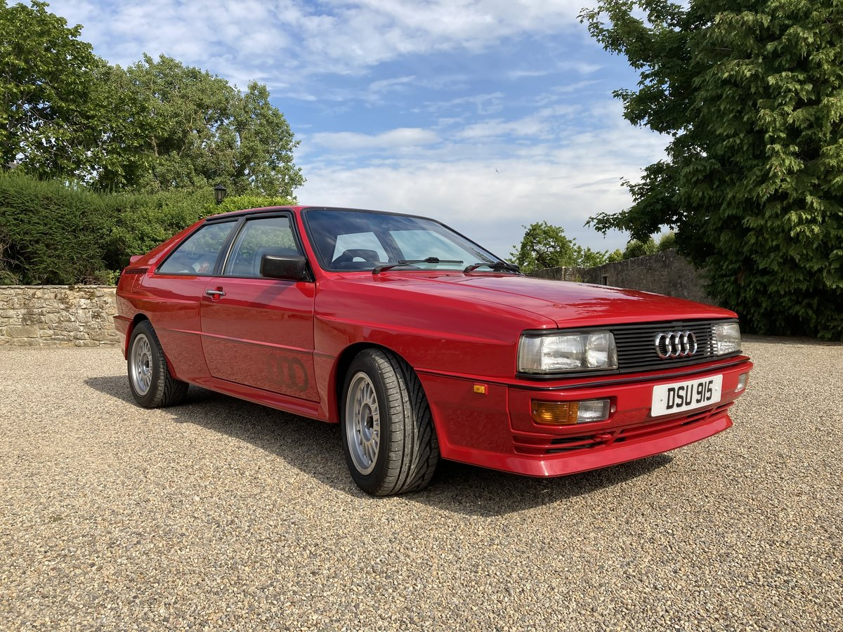1984 Audi Quattro 10v Sold Car And Classic