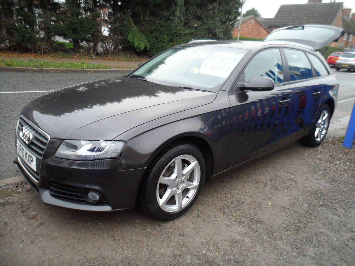 2010 A super driver A4 ESATE 1.9cc DIESEl 6 SPEED MAN F.S.H For Sale (picture 4 of 6)