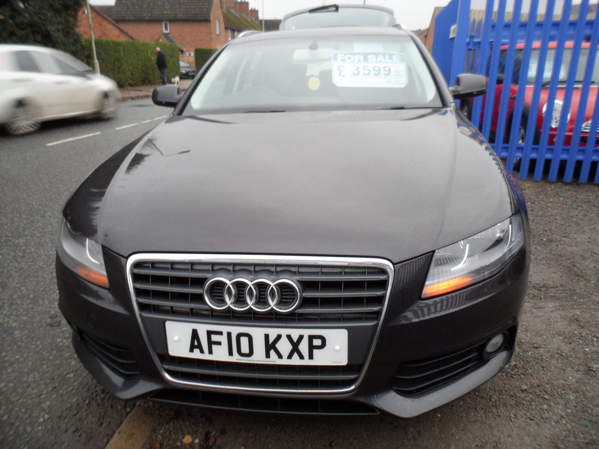 2010 A super driver A4 ESATE 1.9cc DIESEl 6 SPEED MAN F.S.H For Sale (picture 5 of 6)