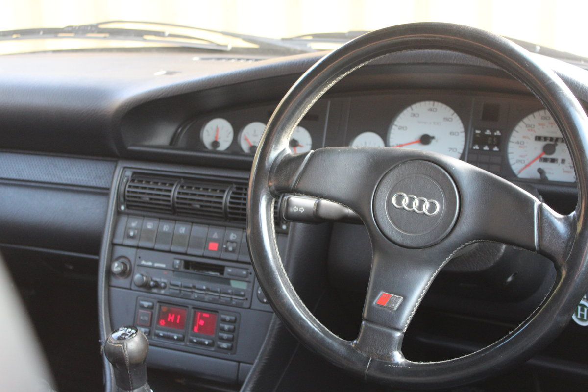 1992 AUDI 100 S4 2.2 Turbo FSH For Sale (picture 6 of 6)