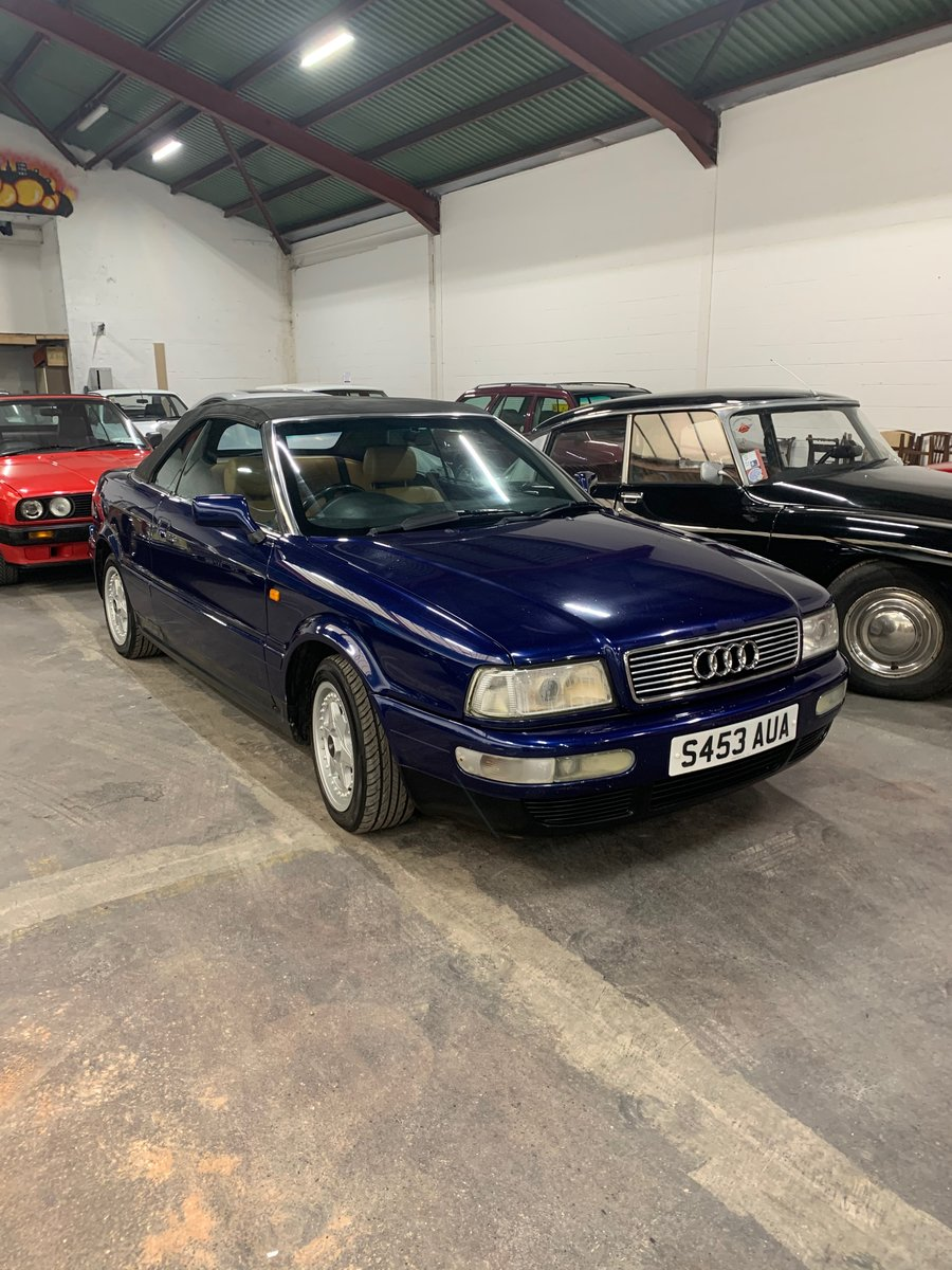 AUDI 1.8 CABRIO FOR AUCTION 27TH FEB 2021 AT 2.30