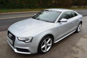 AUDI A5 S LINE COUPE TDI 177 BHP LOW MILES