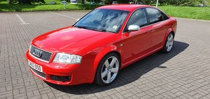 Audi RS6 4.2 Quattro C5 Saloon, (03) 69000 Mls