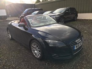 Picture of 2010 Audi tt black, red lthr, 1 owner, 97000m fsh