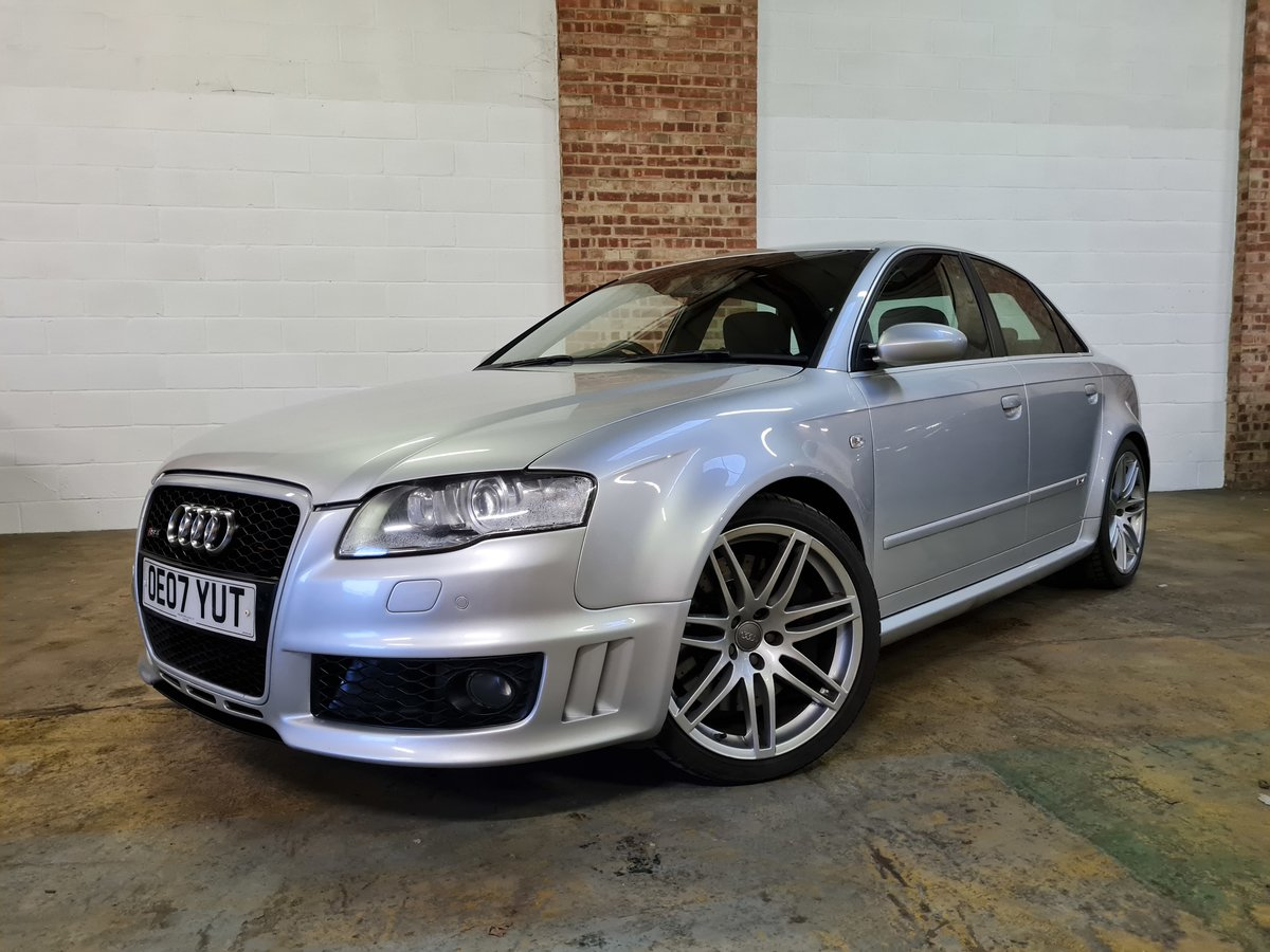 2007 Audi rs4 saloon 4.2 v8 74k original condition For Sale (picture 1 of 10)