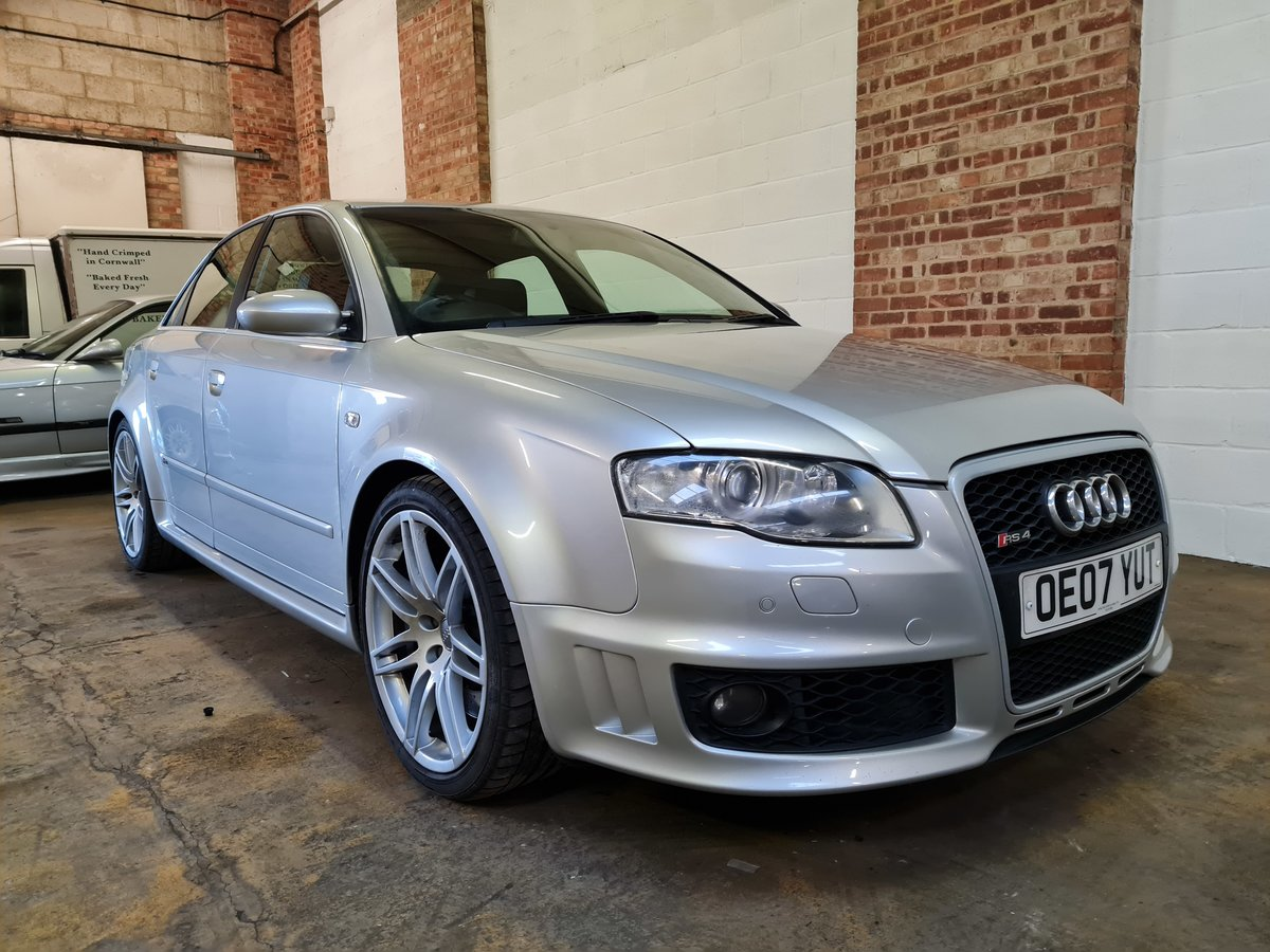 2007 Audi rs4 saloon 4.2 v8 74k original condition For Sale (picture 2 of 10)