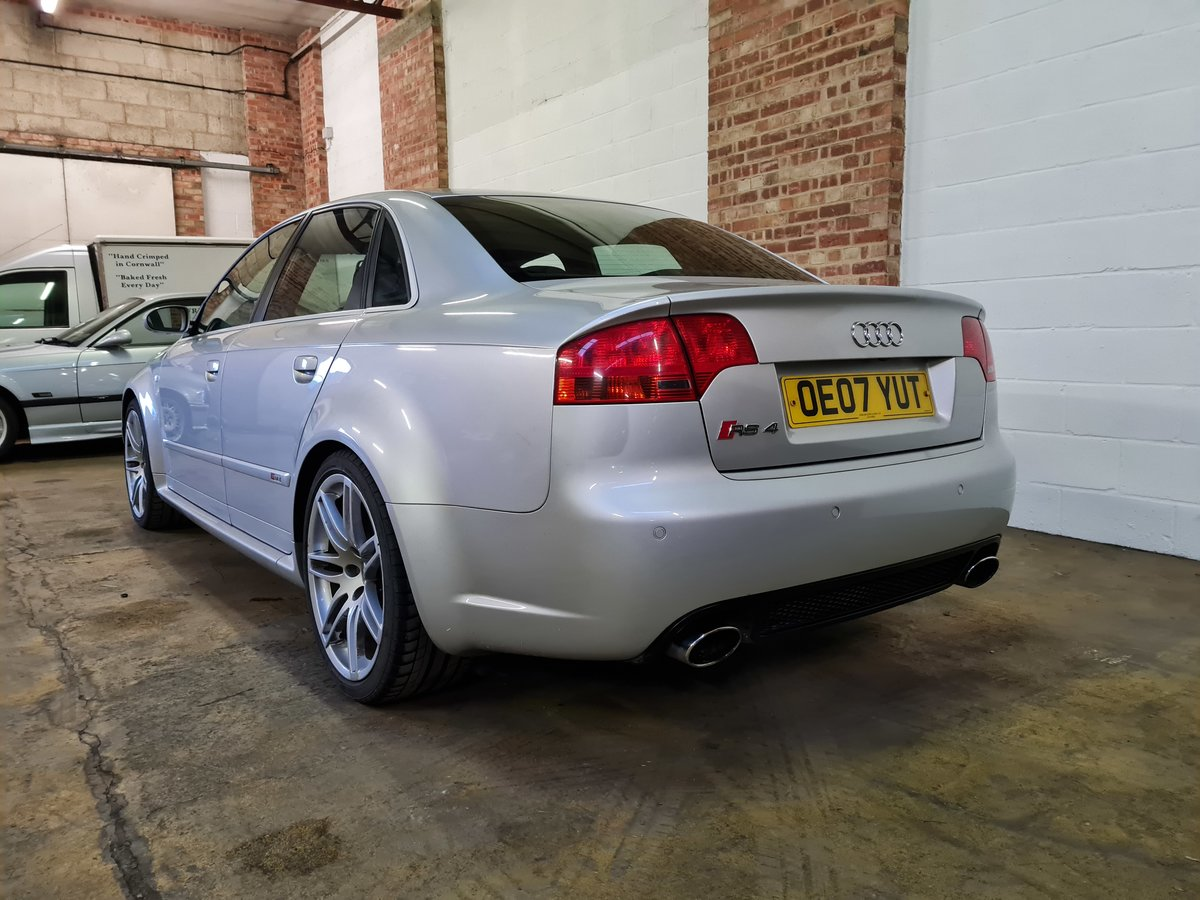2007 Audi rs4 saloon 4.2 v8 74k original condition For Sale (picture 7 of 10)