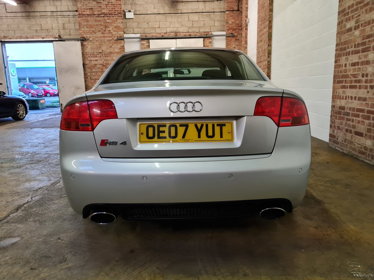 2007 Audi rs4 saloon 4.2 v8 74k original condition For Sale (picture 8 of 10)