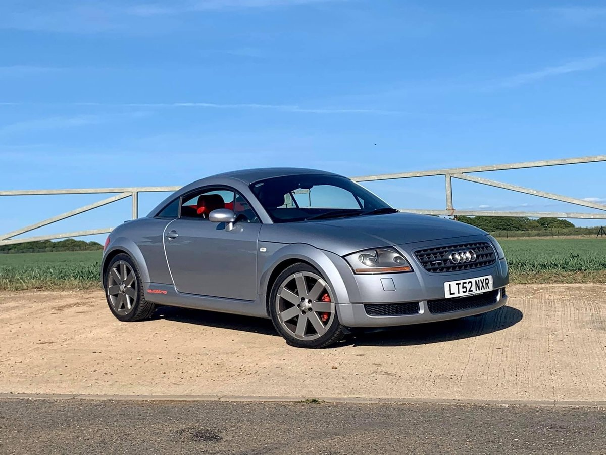 2002 Audi TT 225 Quattro For Sale (picture 1 of 4)