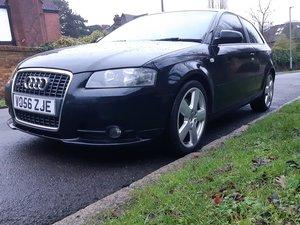 Audi a3 2.0 tfsi s line, long mot, fsh, rare cruis
