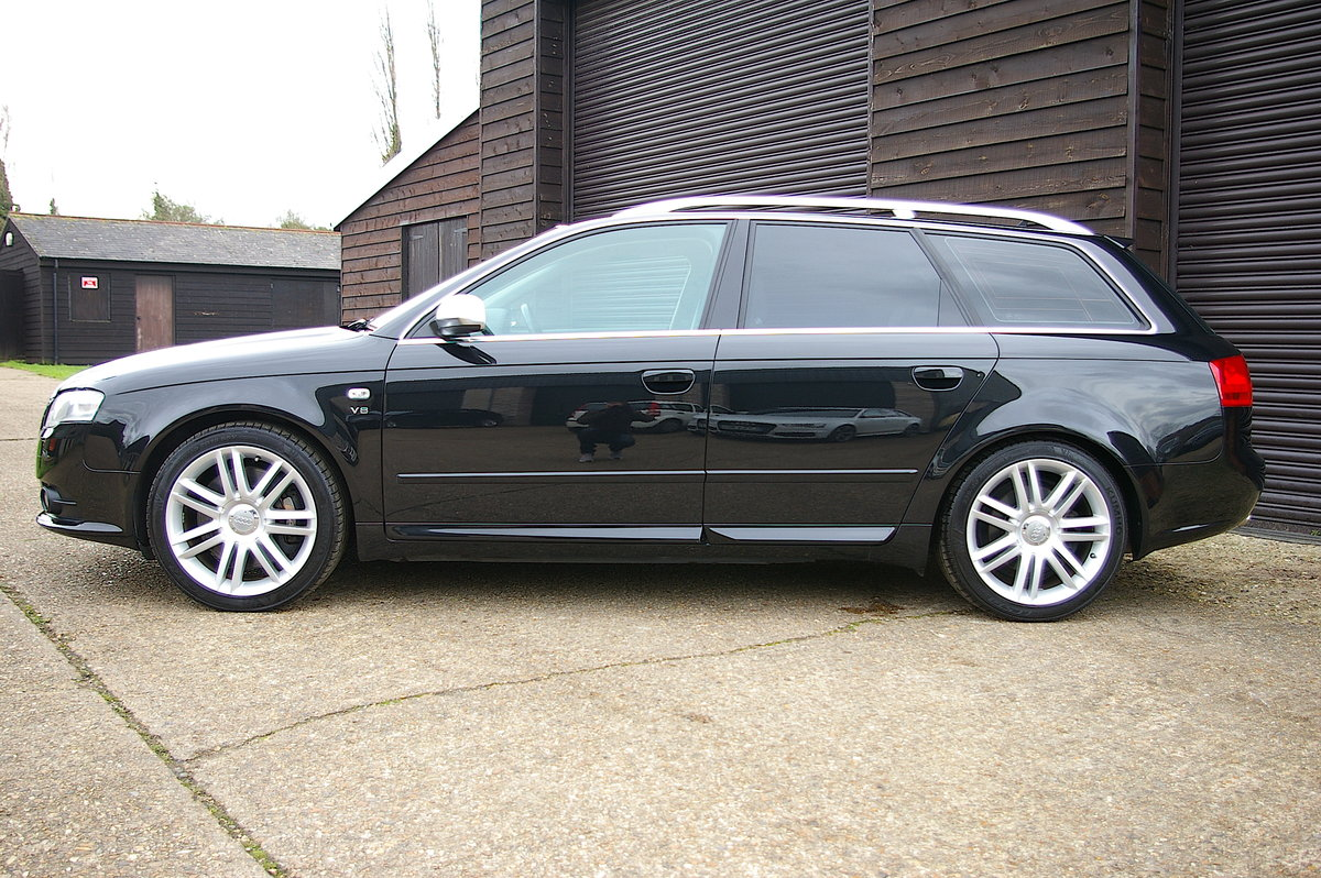 2007 Audi B7 S4 4.2 V8 Quattro Avant Automatic (44,965 miles) For Sale (picture 3 of 12)