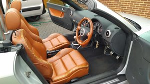 Audi tt quattro baseball leather convertible
