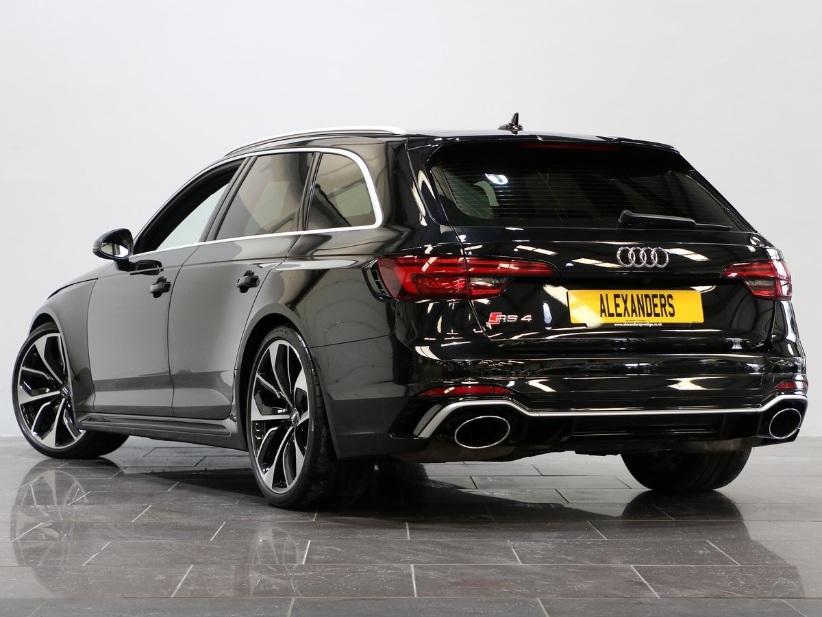 2018 18 67 AUDI RS4 2.9 TFSI QUATTRO AVANT AUTO For Sale (picture 3 of 12)