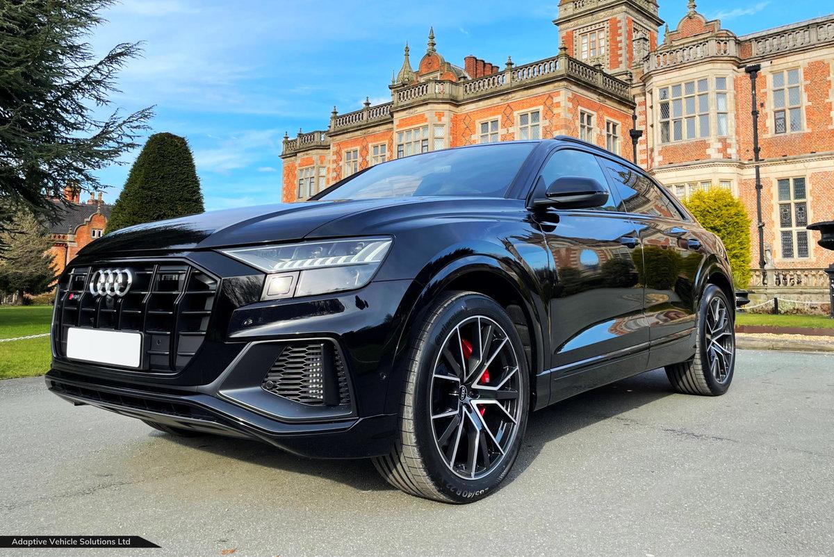 2021 Save Over £3500 - Audi SQ8 Black Edition - Massive Spec For Sale (picture 1 of 6)