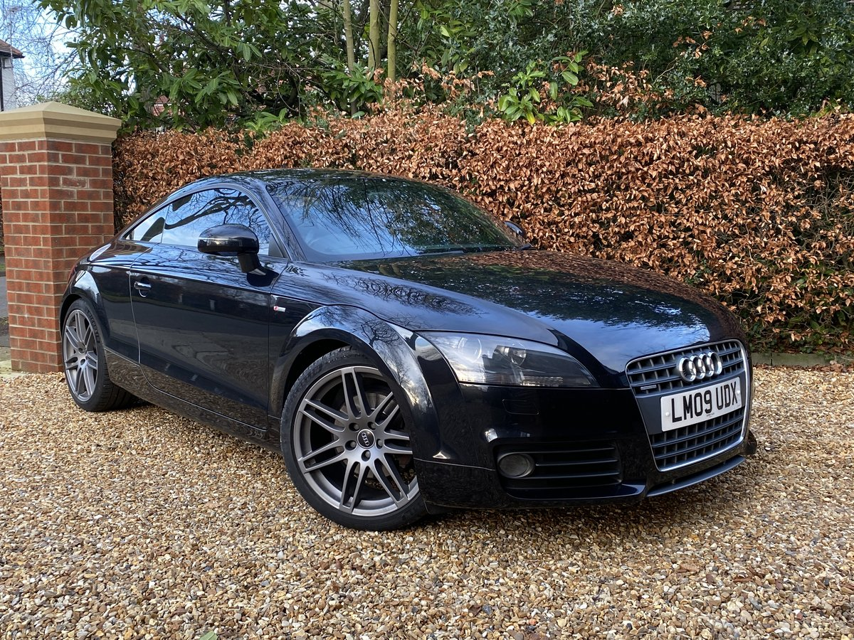 2009 AUDI TT S LINE QUATTRO S TRONIC SPECIAL EDITION SOLD (picture 1 of 12)