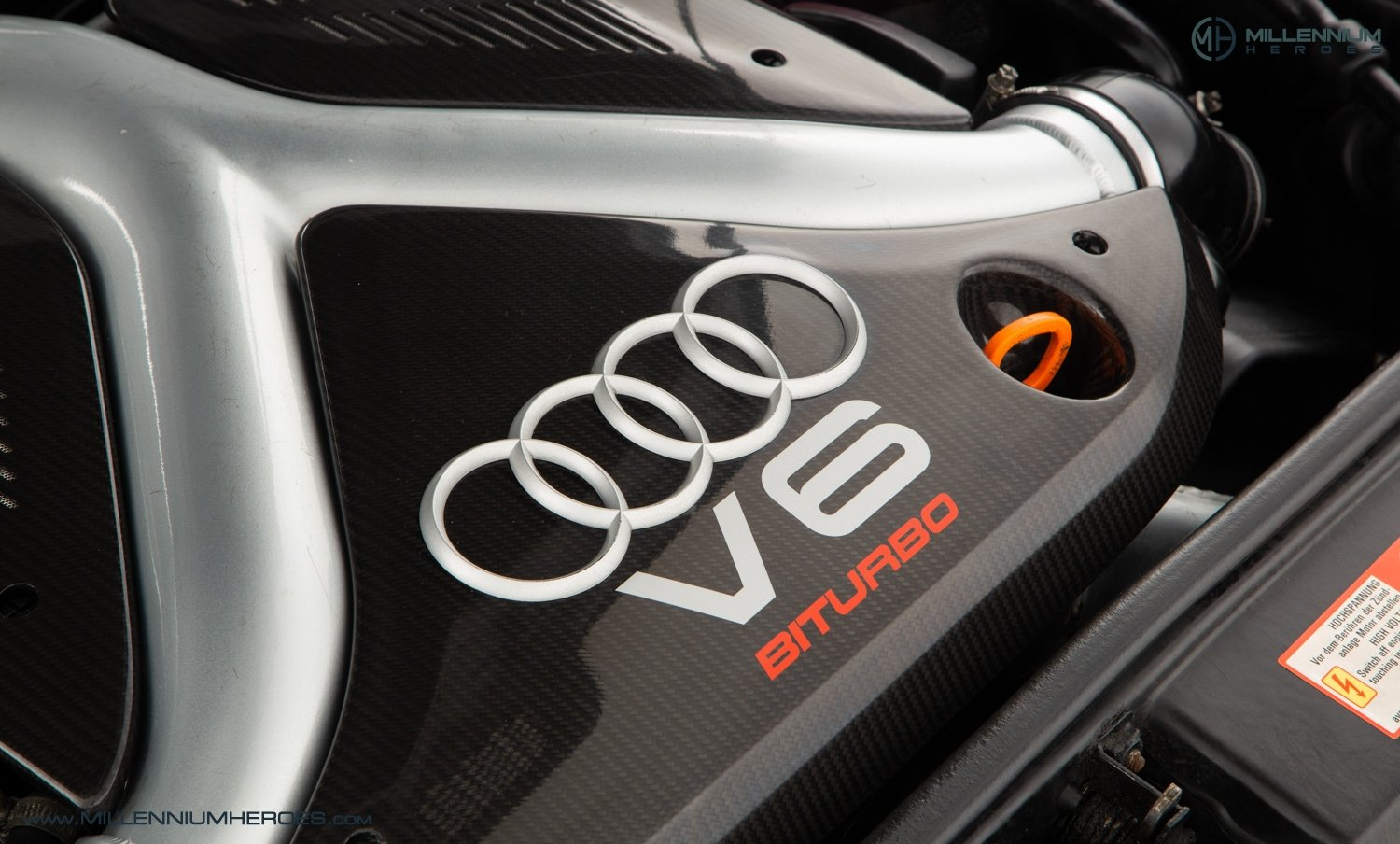2001 AUDI B5 RS4 AVANT // 95K MILES // AVUS SILVER For Sale (picture 23 of 28)
