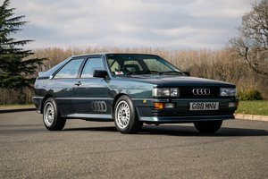 Picture of 1990 Audi Quattro 20V Just 47000 miles - stunning example For Sale by Auction