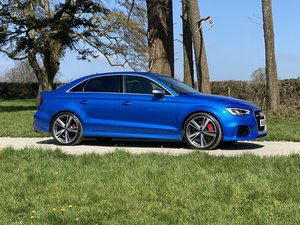 Picture of 2018 18 AUDI RS3 SALOON 1 LADY OWNER FROM NEW 19000 MILES For Sale