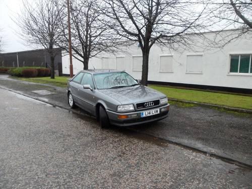 1993 Audi Coupe 2.8e quattro SOLD | Car And Classic