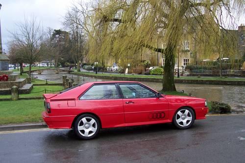 1985 Audi ur quattro Turbo, Fire up the quattro For Hire (picture 1 of 4)