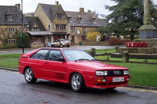 1985 Audi ur quattro Turbo, Fire up the quattro For Hire (picture 2 of 4)