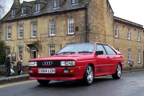1985 Audi ur quattro Turbo, Fire up the quattro For Hire (picture 3 of 4)